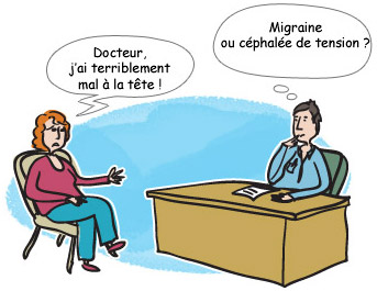 Les différents maux de tête : céphalées primaires - Migraine