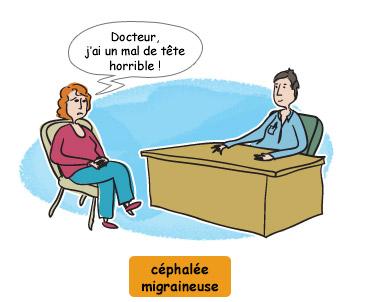 Céphalée migraineuse