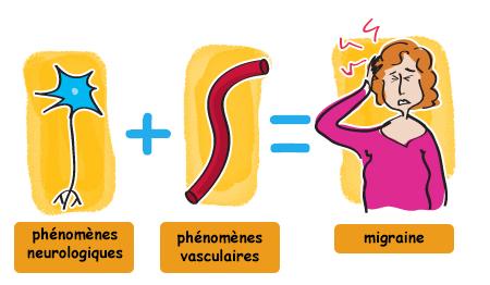 Mécanismes de la migraine